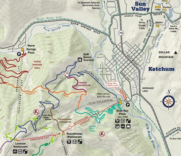 Summer Trails Map