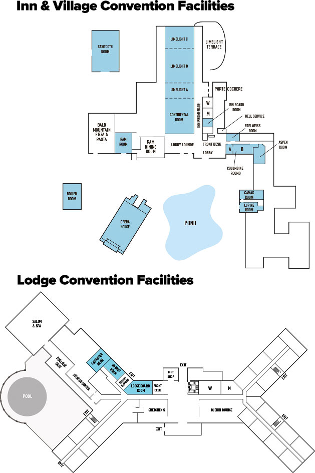 Inn and Village Facilities Map