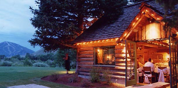 Constructed in 1937, Trail Creek Cabin couples the cozy atmosphere of the early West with the warmth and glow of a Nordic Ski Lodge. Historic mountain décor ...